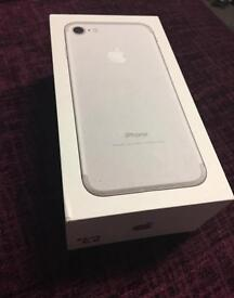iPhone 7 silver 32gb new EE