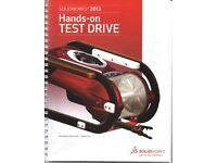 New, Unused SOLIDWORKS 2012 Hands-on Test Drive Training Manual