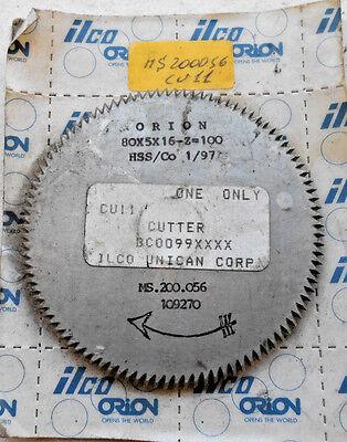 Ilco Orion Cu-11 Key Machine Replacement Cutter 80x5x16-z100