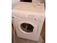 HOTPOINT AQUARIUS WASHING MACHINE 6KG 1400 SPIN WASHING MACHINE GOOD WORKING ORDER VIEWING WELCOME