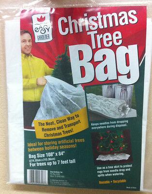 "Easy Gardener Christmas Tree Removal Bag Disposal #306 108"" x 84"" FREE SHIPPING!"