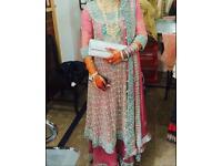 Indian, Pakistani wedding dress