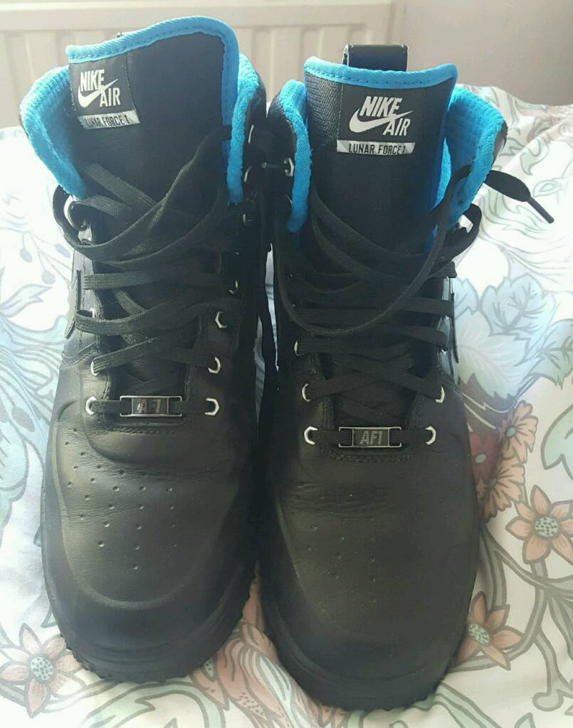 Nike air lunar force 1s boots in size 10. Limited Edition. | in