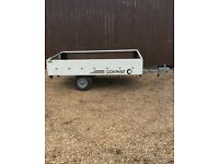 Trailer 6 ft by 4 1/2 ft ideal for boot sales moving house £125