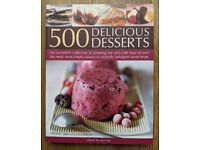 Cookery books - 500 Delicious Desserts - Hermes House - Desserts - Cakes, tarts, puddings