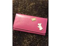 Pink leather Radley purse (un-used)