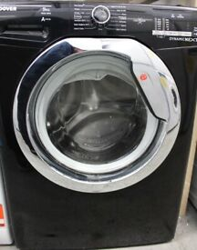 Hoover Dynamic One Touch DXOC69C3B/1-80 A+++ 9kg 1600 Spin Washing Machine Black