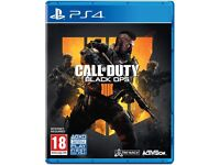 Call of duty: Black ops 4 for Playstation 4 - Good condition    PS4   