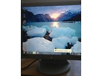"Samsung 17"" LCD monitor for PC / CCTV SECURITY CAMERA - DELIVERY"