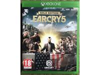 FAR CRY 5 GOLD EDITION FOR X BOX ONE