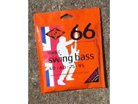 Unused Rotosound RS66LC Swing Bass 66 (40-95) £12 delivered