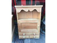 Pine hanging cabinet