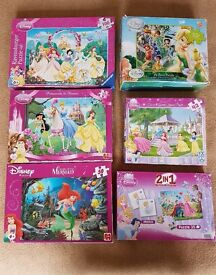 Disney Puzzles Assorted - £2 each or £10 the lot!