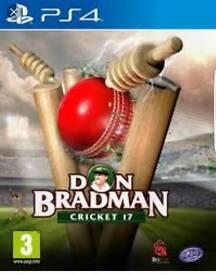 Don bradman 17 ps4