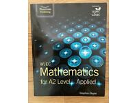 WJEC Mathematics for A2 level -applied