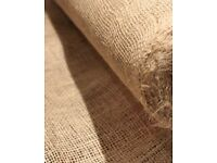 *Hessian (jute) lengths for table runners, decorations, craft, rustic, shabby chic*