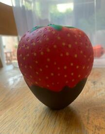 Strawberry dipped in Chocolate Squishy