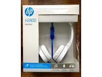 HP H2800 Headset With Integrated Microphone (New ans Sealed)