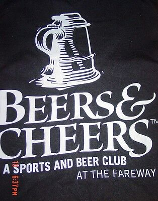 Beers   Cheers Hanes Graphic Shirt M Sports Club At The Fairway Stein Mug Black