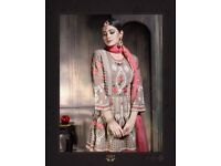 VIRAT CREATION PRESENT MAIRA NEW CATALOG CONCEPT SHARARA TYPE EID COLLECTION SUITS AT HIRAL TEXTILE