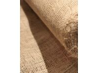***Hessian rolls for table runners, Christmas decorations, craft, rustic, shabby chic, vintage***