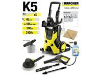 KARCHER K5 PRESSURE WASHER WITH WARRANTY