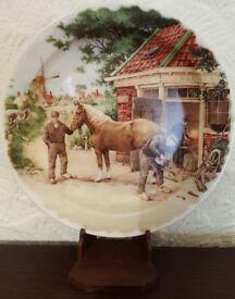 Vintage Royal Schwabap 10 inch plate