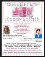 FREE SHOPPING PARTY & CANDY BUFFET