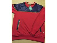 Brand New With Tags Men's Boss Jumper Red £15