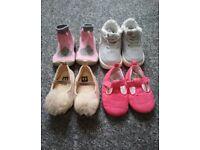 Bundle of baby shoes Nike, next