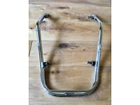 Vespa PX ORIGINAL Chrome Mudguard Bumper 125 150 200 EFL Disc Excellent LOOK!