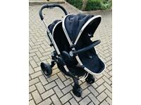 iCandy Double Pushchair nearly New