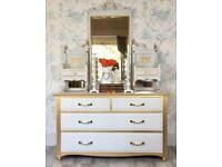 Dressing Table, Chest Of Drawers