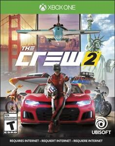 NEW The Crew 2 Standard Edition - Xbox One