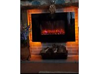 Be modern large electric fire