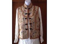 5 New Ladies Vintage Leather Vest - Each 5 Pound