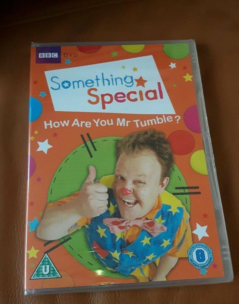 MR TUMBLE / SOMETHING SPECIAL DVD - HOW ARE YOU MR TUMBLE