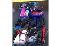 Joblot Of used handbags / purses & kid's bags