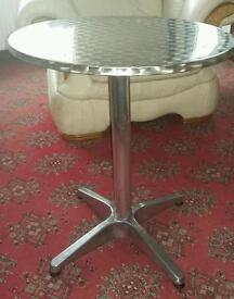 Bistro aluminium table