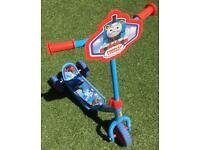 Thomas the Tank Engine My First Tri-Scooter, used but in perfect condition.