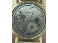Tissot seastar automatic rolled gold double , made in w germany