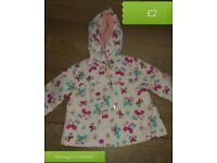 Baby girls jacket 0-3 & 3-6 months