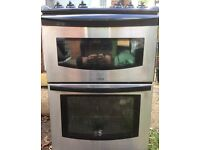 Strata stainless steel fronted gas oven