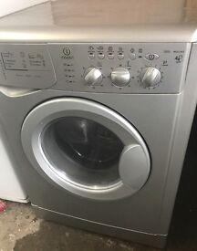 INDESIT WASHING MACHINE/Dryer.. silver