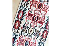 Brand new reversible Turkish kilim rug - Anatolian pattern