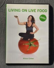 Alissa Cohen : Living On Live Food DVD