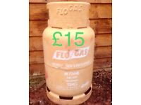 BUTANE GAS BOTTLES CANISTERS CONTAINERS FIRE BBQ STOVE HEATING COOKING EMPTY FOR SALE ONLY £15 EACH