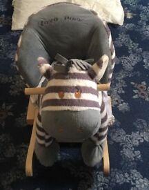 Child's animal rocking seat