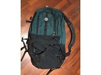 Eagle Creek travel backpack with daypack zipped on front
