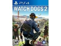 Watchdogs 2 PS4 in